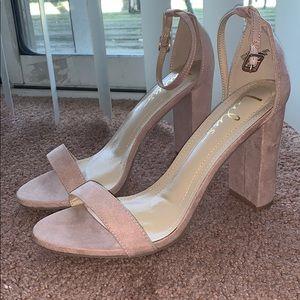 Lavender short heel